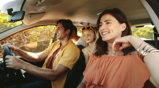 Family on self drive holiday