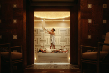 Luxury spa experience
