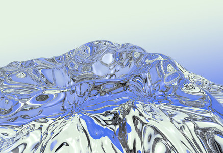 abstract water flow