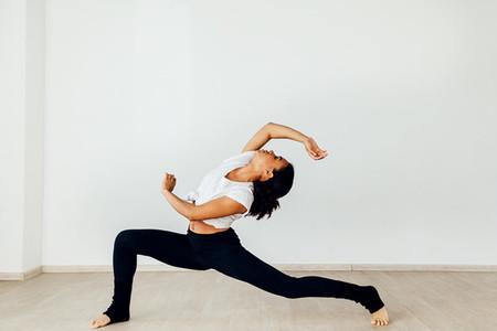 Professional female dancer