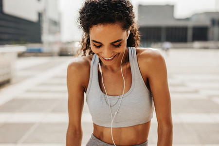 Listen music to get motivated during workout