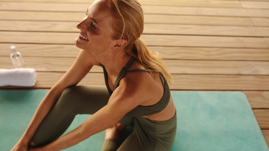Yoga for relaxation and well being