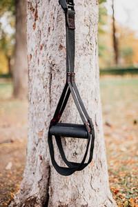 Trx fitness straps for working w