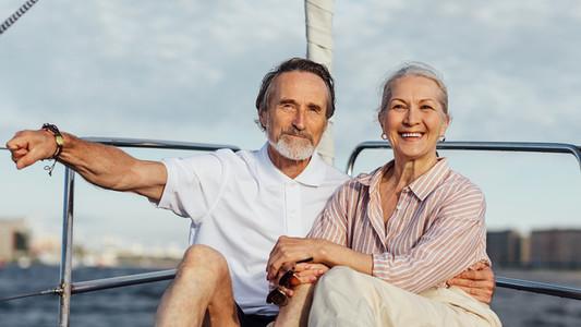 Senior couple enjoying quality