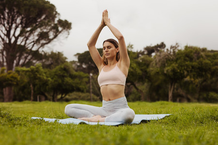 Yoga for a relaxed and peaceful mind