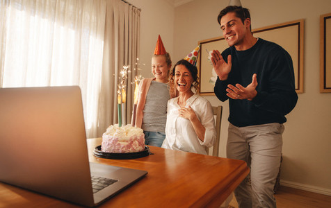 Birthday party during corona virus lockdown