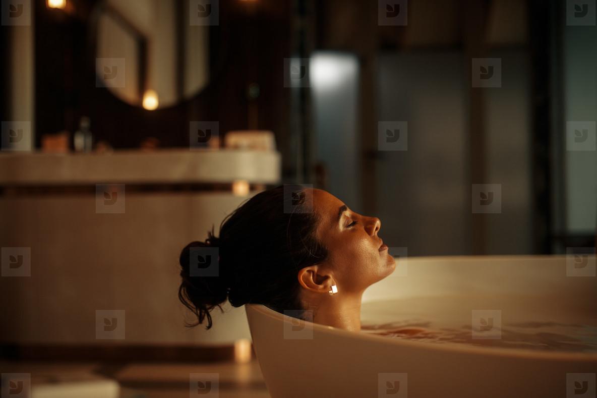 Refreshing bath at home