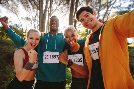 Marathon race winners