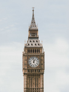 Big Ben clock tower London UK