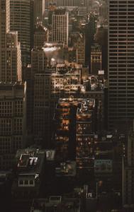 Highrise buildings New York City New York USA