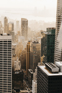 Highrise buildings New York USA