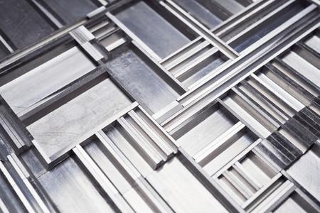 Textured aluminum pattern