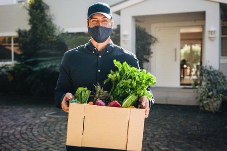 Express grocery delivery service during pandemic