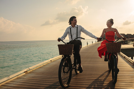 Romanic holiday on a tropical destination