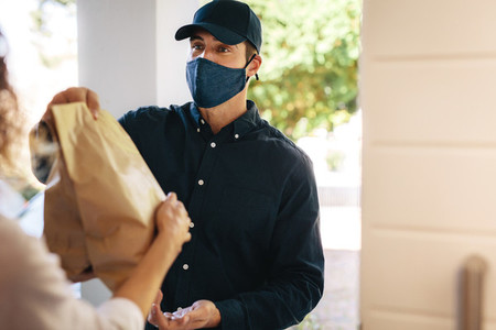 Home delivery service during covid 19 pandemic