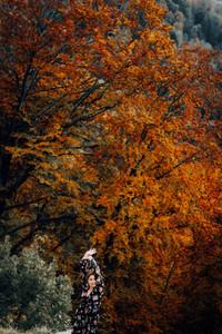 Young Women during fall 7