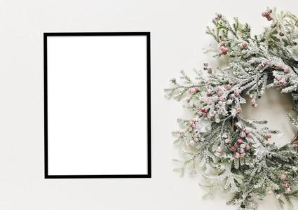Christmas Frame Mockup