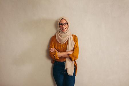 Portriat of a muslim businesswoman