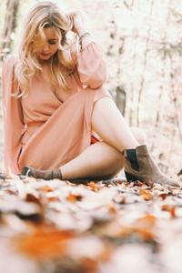 Beautiful Women at Fall 2