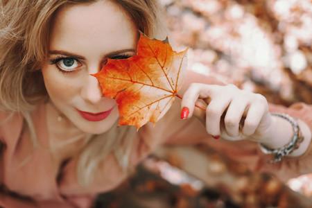 Beautiful Women at Fall 5