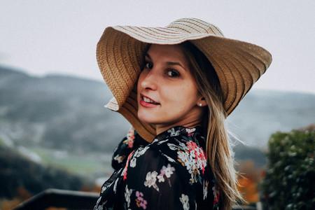 Beautiful women during fall 3
