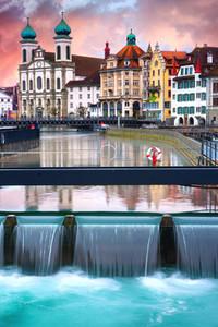 Luzern Switzerland Winter