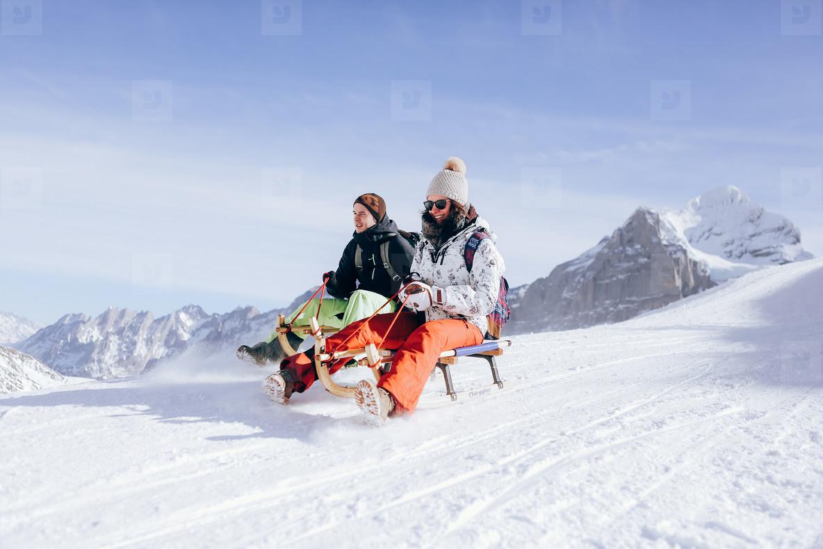 Grindelwald First Ski Resort 21