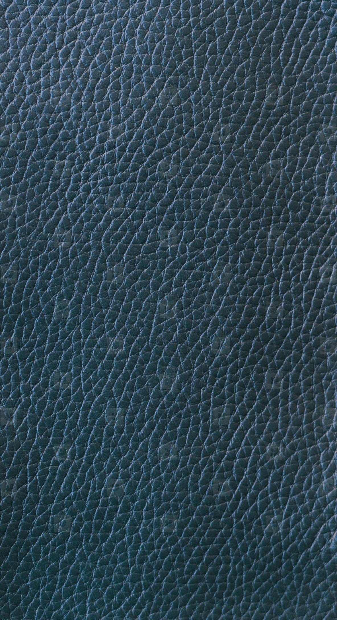 calf skin texture in dark cyan color