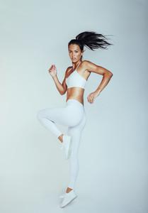 Portrait of fitness woman