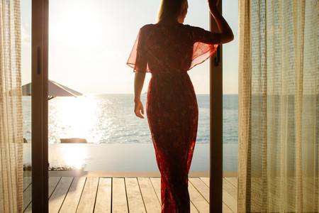 Luxury vacation on an overwater villa