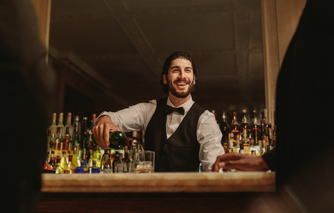 Hotel bartender