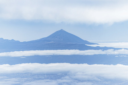 Teide in the clouds