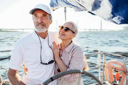 Mature woman in sunglasses