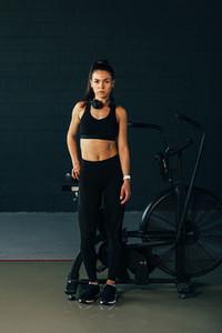 Portrait of a sportswoman