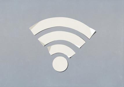 Paper wifi symbol