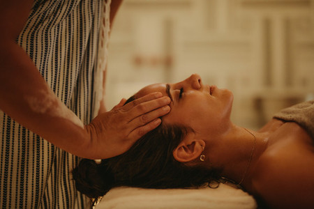 Massage for stress relief and rejuvenation