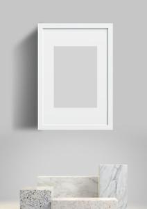Picture frame mockup  poster mockup