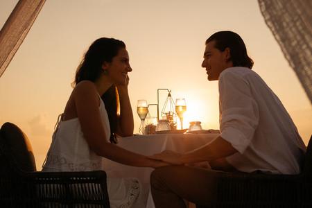 Sunset dinner date