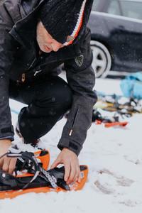 Snowshoeing Switzerland 1