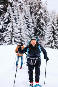 Snowshoeing Switzerland 3