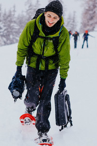 Snowshoeing Switzerland 6