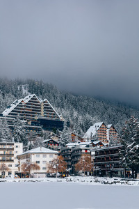 Ski Resort Crans Montana Switzerland