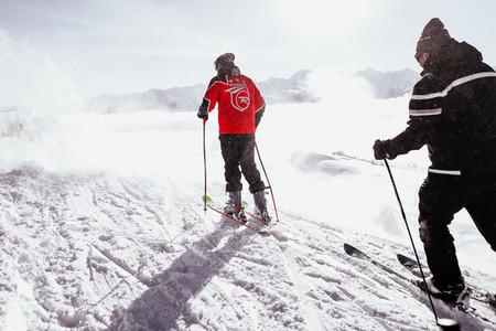 Ski Resort  Crans Montana Switzerland