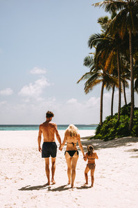 Holiday on a tropical island