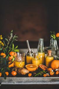 Vitamin vegan immune boosting health defending drink  copy space