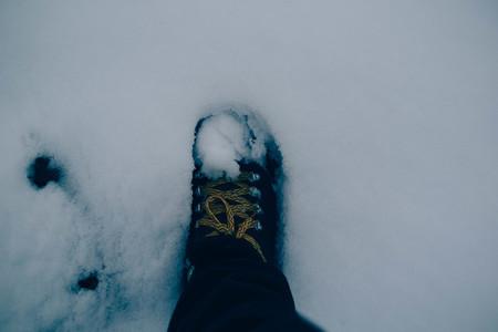 footprint snow