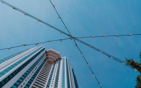 Looking up in Bangkok