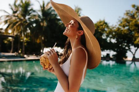 Memorable tropical holiday at a resort