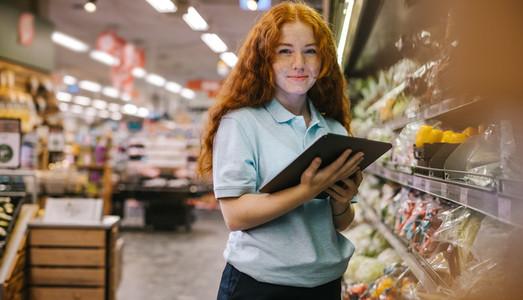 Vocational training in supermarket