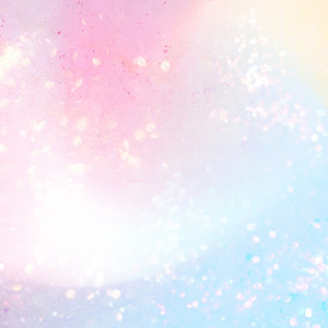 Holographic unicorn pastel colorful background with shiny star s